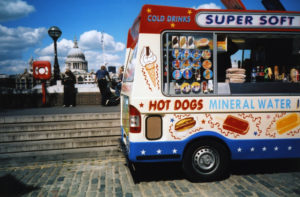 Ice cream van on the South Bank, taken by lipsticklori