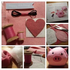 Make Your Own Piglet craft kit