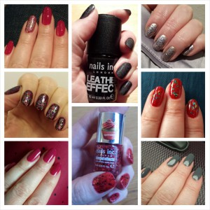 Some of my Nails Inc sale colours