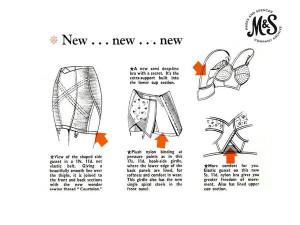 M&S Underwear Innovations, 1960