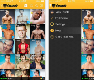 Image of Grindr app via Melies The Bunny's Flickr
