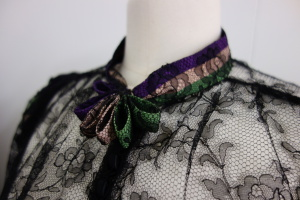 Suffragette blouse, 1910, loaned by Meg Andrews Antique Costume and Textiles