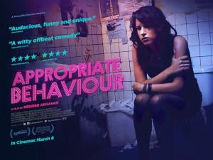 UK poster for Appropriate Behaviour