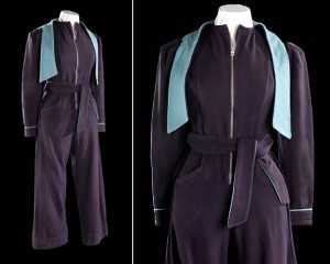 1940s siren suit from IWM collections