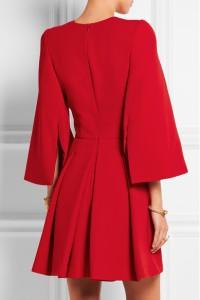 Alexander McQueen ready-to-wear red dress
