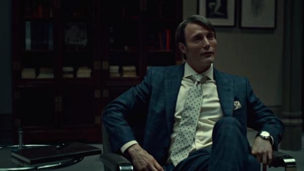 Mads Mikkelsen in season 1 of Hannibal