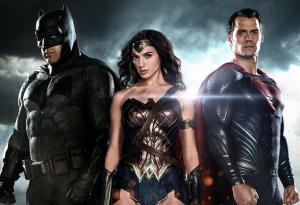 Batman, Wonder Woman and Superman