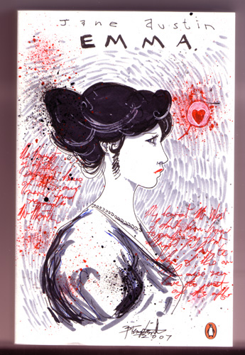 Book cover of Jane Austin's Emma, by Ben Templesmith on Flickr