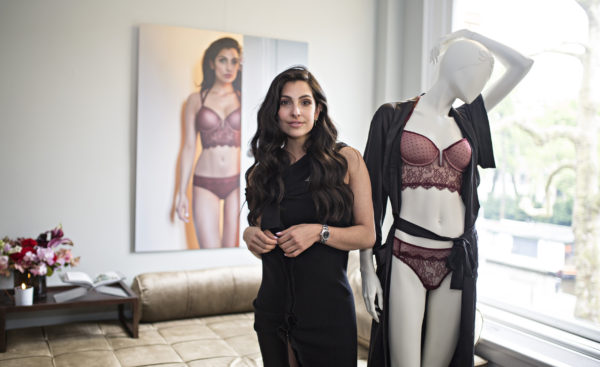 Anna Nooshin collection for Hunkemoller