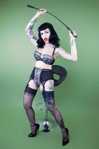 Bettie Page by Playful Promises, eyelash lace retro bra