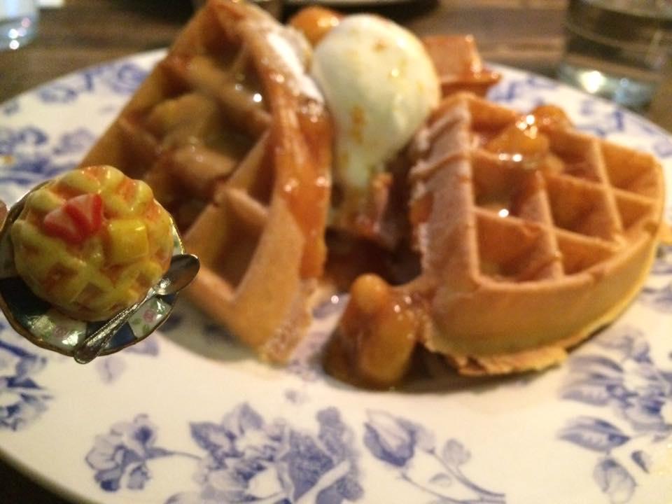Waffles at Village East, SE1