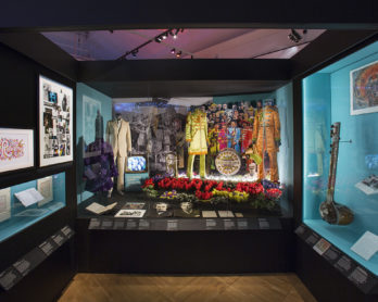 Installation image from You Say You Want a Revolution. Image © Victoria and Albert Museum