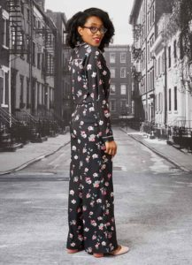 Joanie floral shirt and trousers