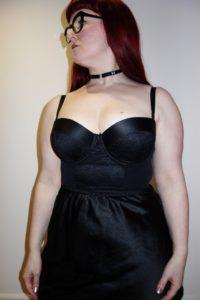 Kiss Me Deadly 'Dietrich' longline bra
