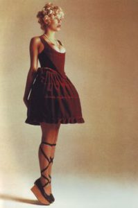 A look from Vivienne Westwood's A/W 1987-88 'Harris Tweed' collection