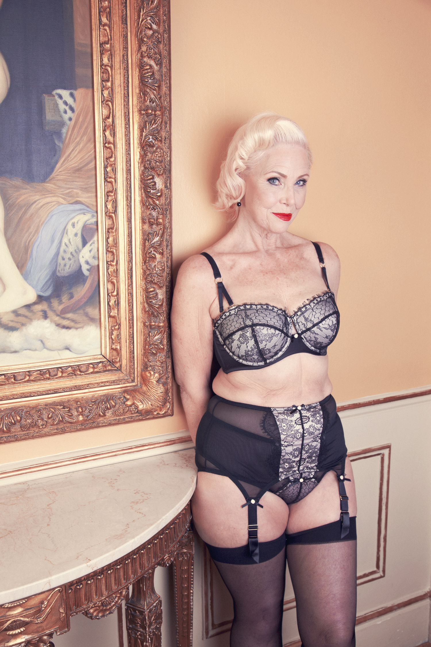 Playful Promises' Ageless Fashion campaign, featuring Lina