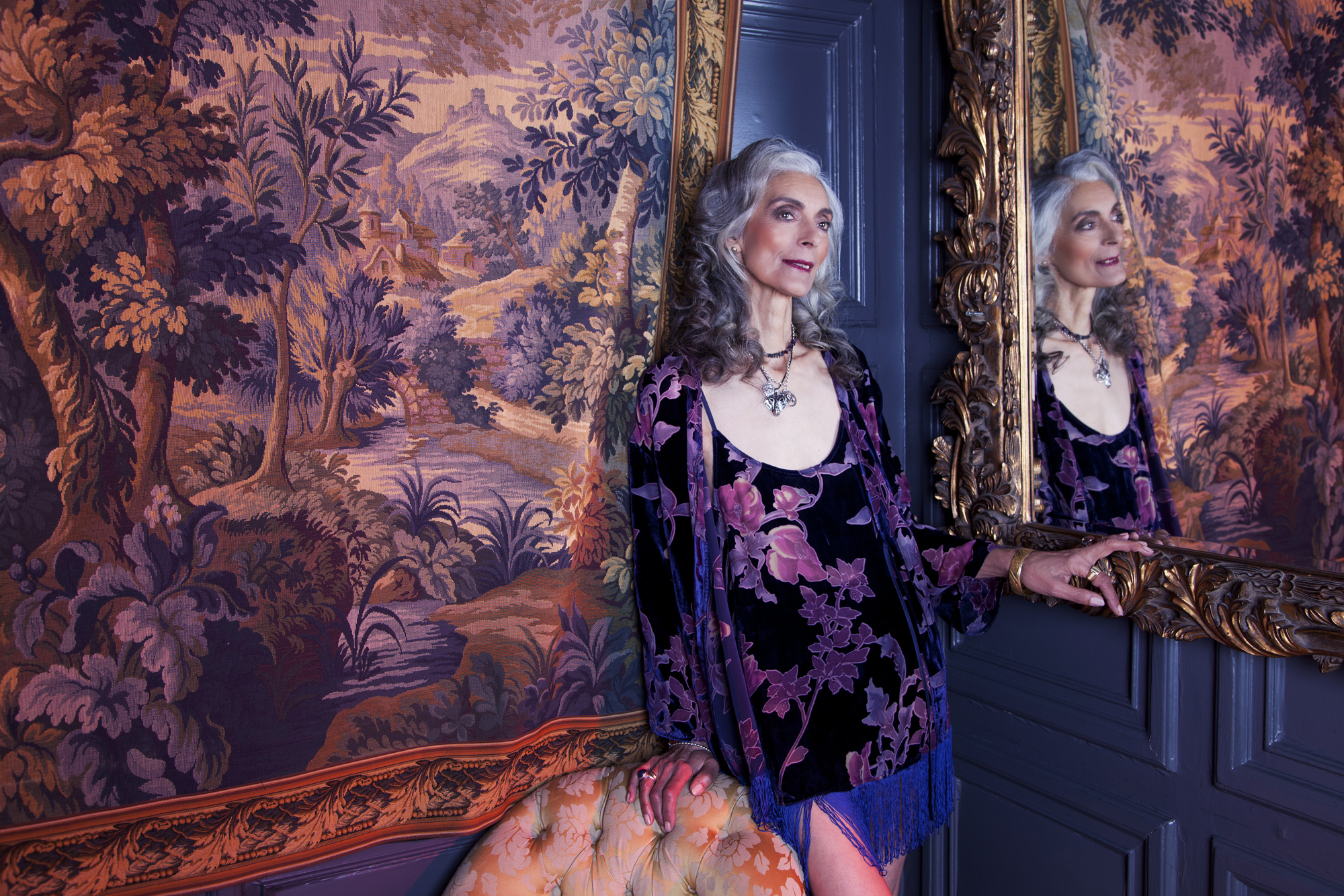 Playful Promises' Ageless Fashion campaign, featuring Pam
