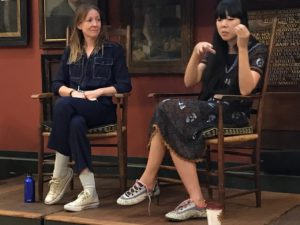 Susie Bubble in conversation with Dr Agnès Rocamora at the 2017 Costume Society Conference