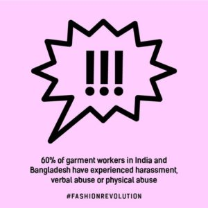 Infographic from Fashion Revolution