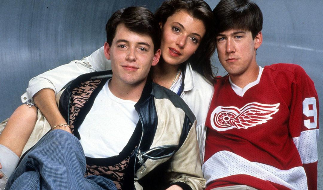 Main cast of Ferris Bueller's Day Off
