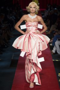 A look from Moschino's Spring 2017 collection