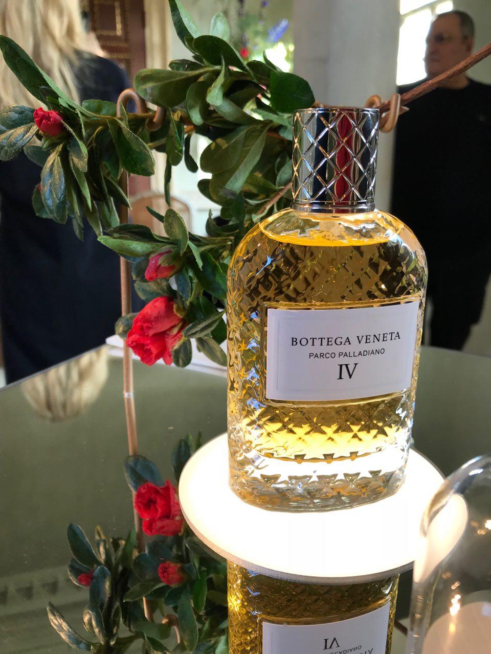 One of the Bottega Veneta Parco Palladiano fragrances