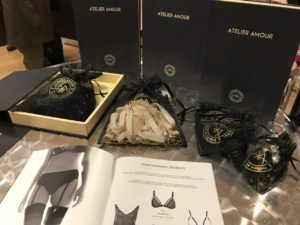 Atelier Amour gift boxes at Dessous London