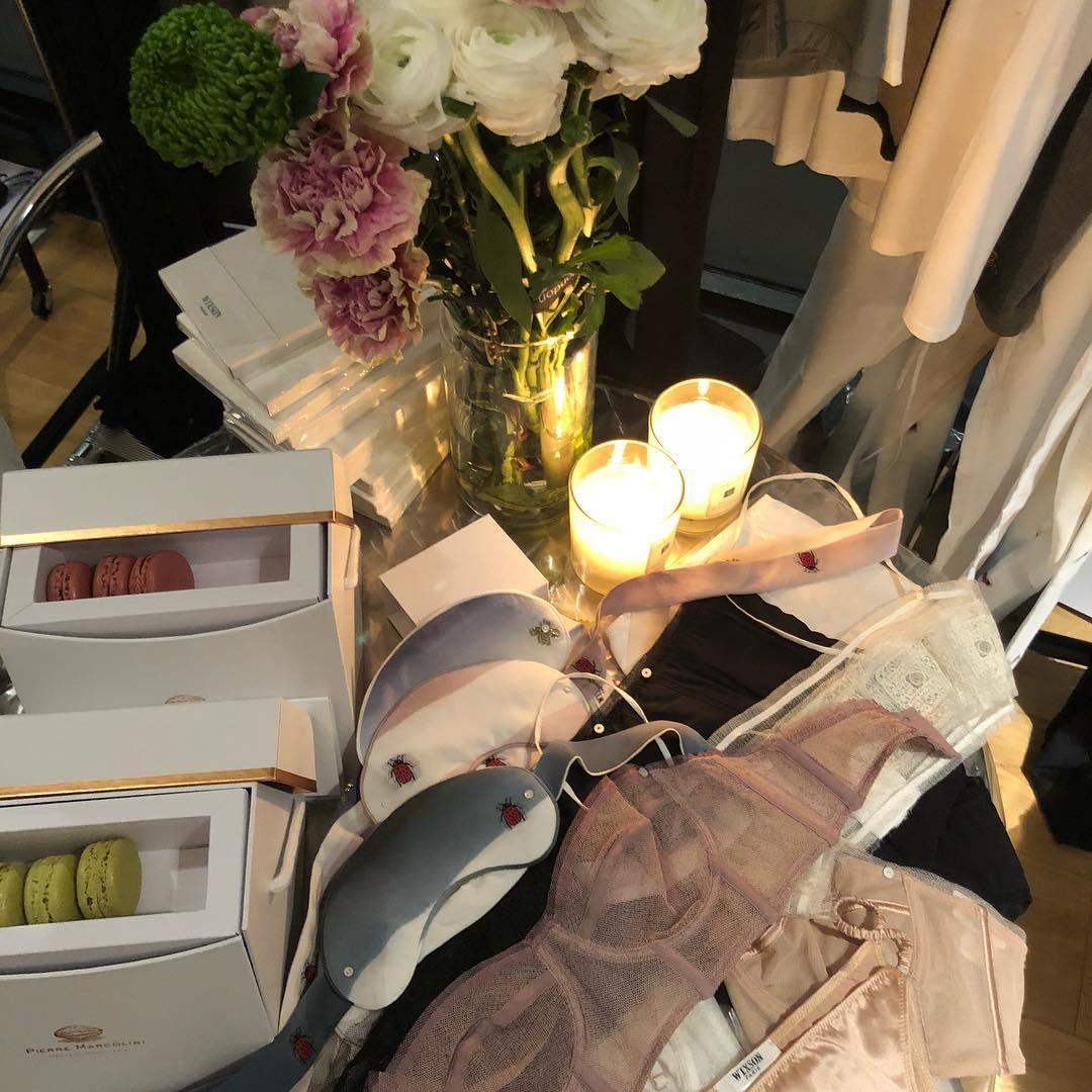 Wixson Paris AW18 collection at Dessous London