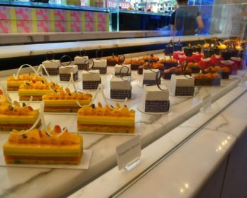 Yauatcha cakes. Image via via Hungry Hoss food blog