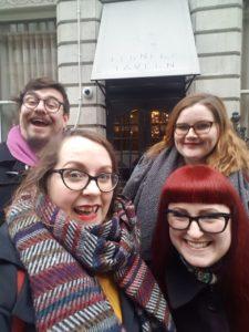 Traditional Brunch Club selfie!