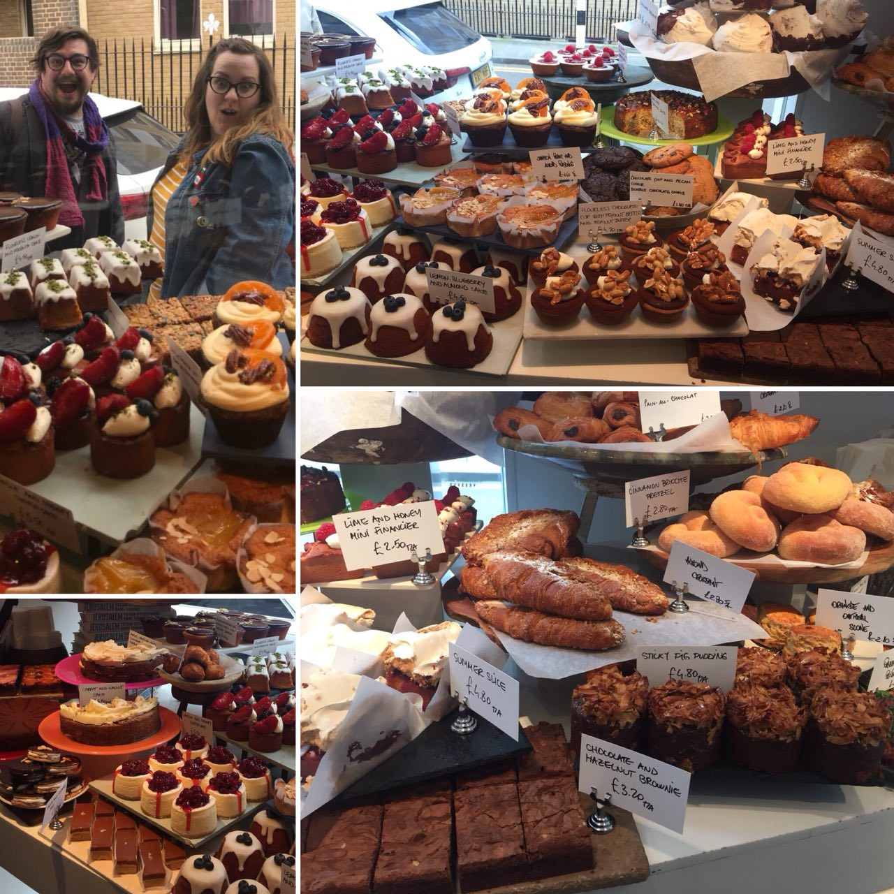 Ottolenghi cakes and pastries are also available to take away!