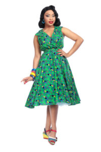 Love UR Look 'parrot' print dress
