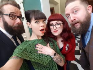 A silly wedding selfie, snapped by Manda