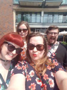 Sunny Brunch Club selfie!