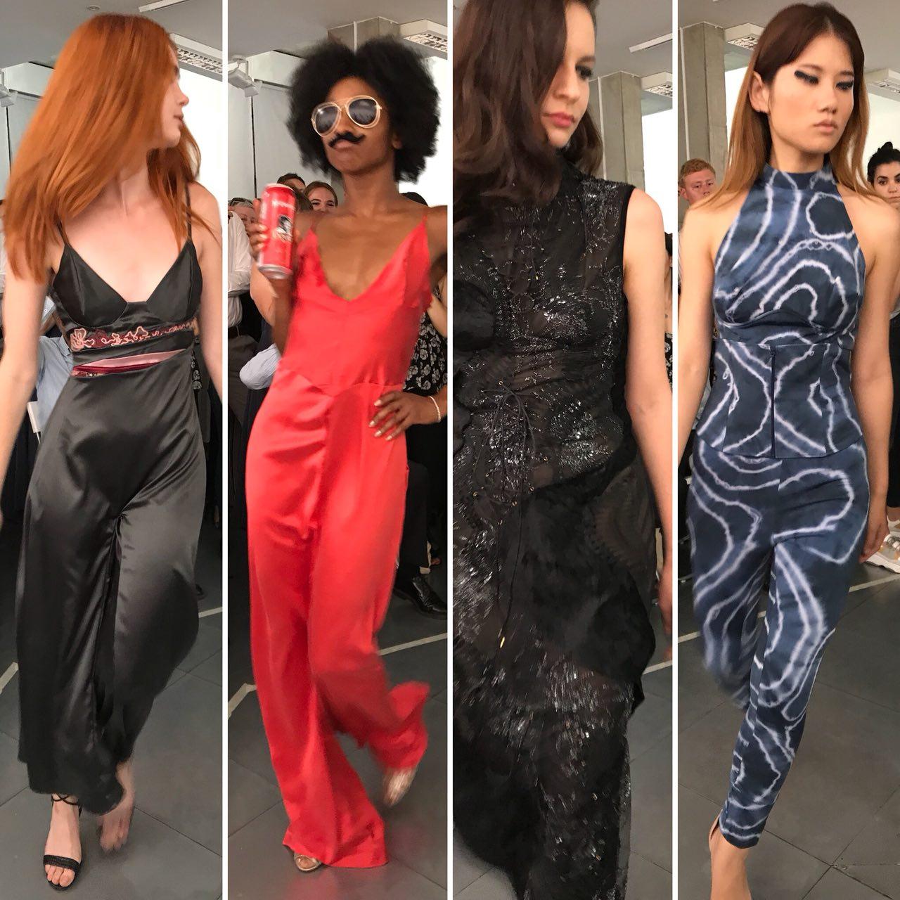 LCF BA Fashion Contour 2018 catwalk images