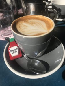 Eleanor's flat white at The Good Egg