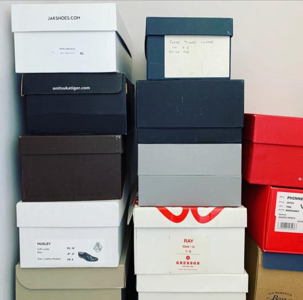 Benjamin's shoes