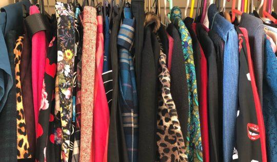 Lori's wardrobe, April 2020