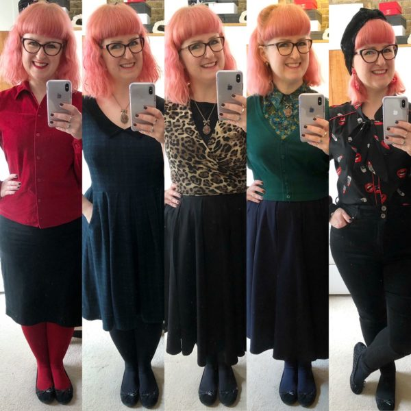Lori's working from home outfits: week 1