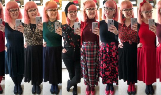 Lori's working from home outfits